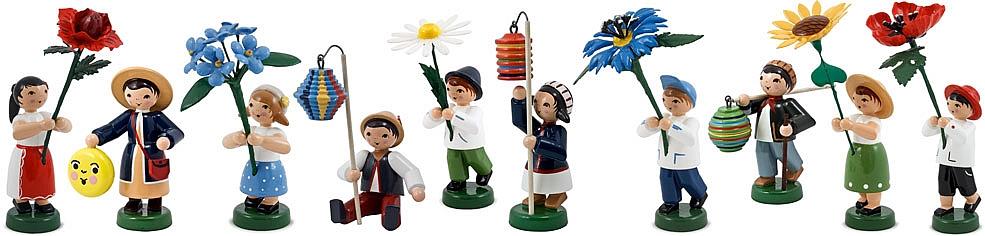 Ulmik Miniaturen und Blumenkinder