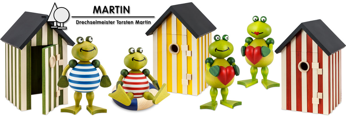 Frogs made by Torsten Martin