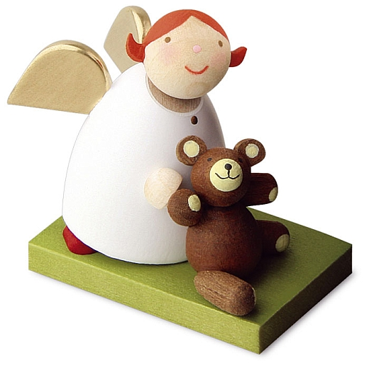 Schutzengel mit Teddy