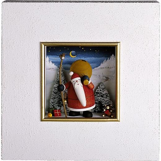 "Wandbild ""Weihnachtsmann"""