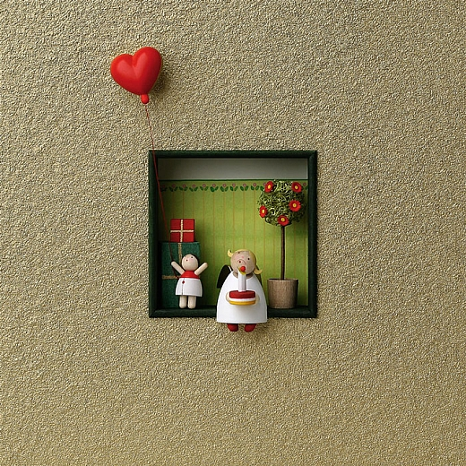 """Wandbild """"Herzlichen Glückwunsch"""""""