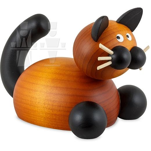 Katze Bommel auf der Lauer groß
