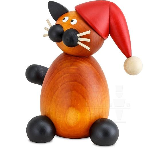 Weihnachtskatze Bommel groß