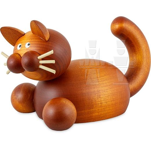 Katze Charlie auf der Lauer groß