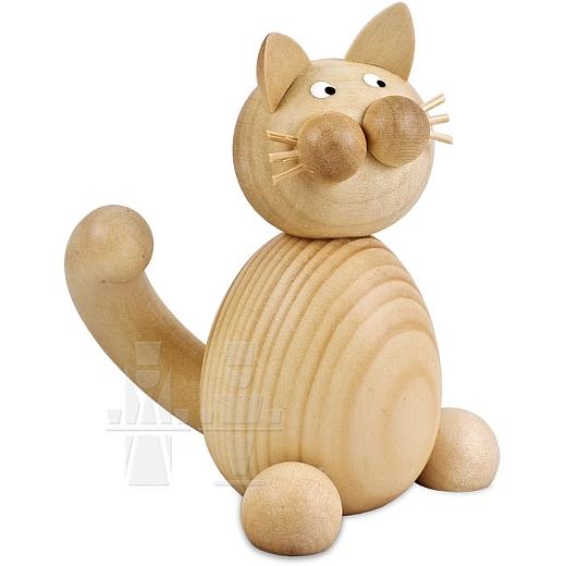 Katze Moritz sitzend