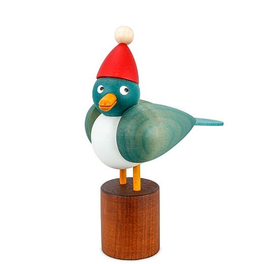 Weihnachtsmöve klein hellblaue Flügel