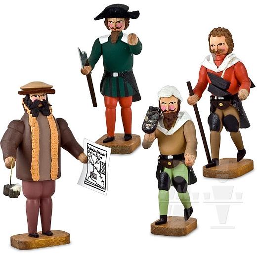 Bergleute im 16. Jahrhundert Gruppe 1