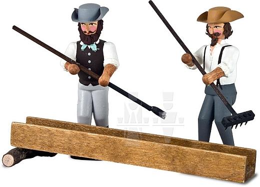 Goldwäscher - 2 Figuren