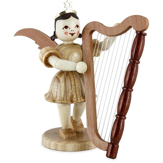 Kurzrockengel Naturholz Harfe