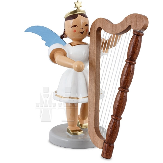 Kurzrockengel farbig Harfe
