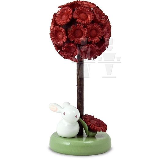 Häschen am Blütenbaum