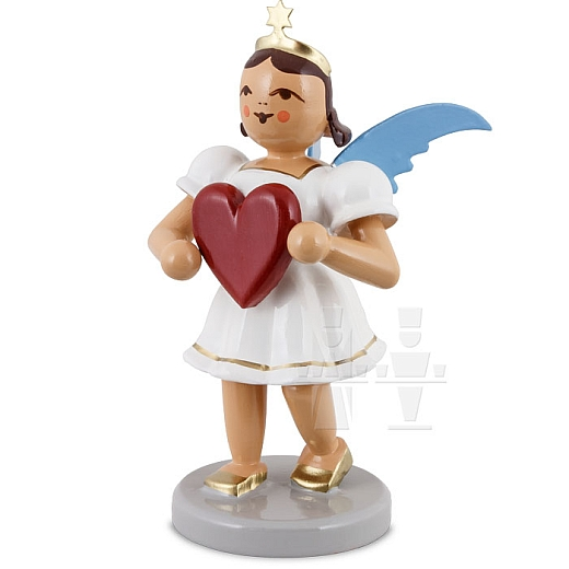 Kurzrockengel farbig Herz