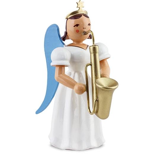 Langrockengel farbig Saxophon
