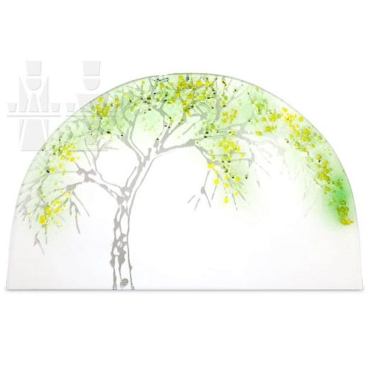 Gläsernes Bild Sommer Apfelbaum