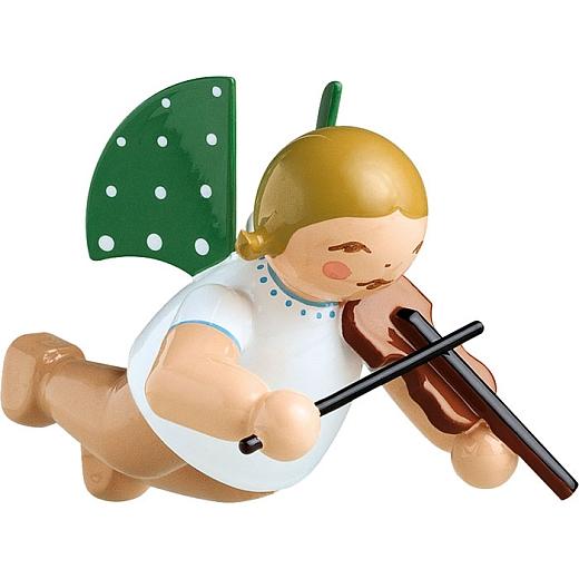 Engel mit Geige schwebend von Wendt & Kühn