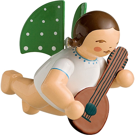 Engel mit Mandoline, schwebend von Wendt & Kühn