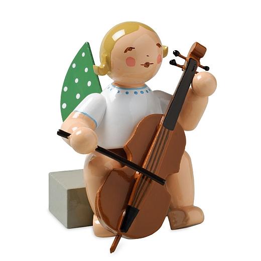 Engel mit Violoncello von Wendt & Kühn