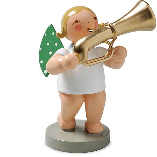 Engel mit Basstrompete von Wendt & Kühn
