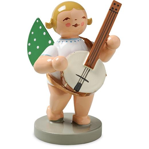 Engel mit Banjo von Wendt & Kühn