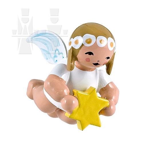 Schwebeengel klein mit Stern