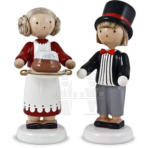 """Jahresfiguren 2010 """"Moritz und Jenny"""""""