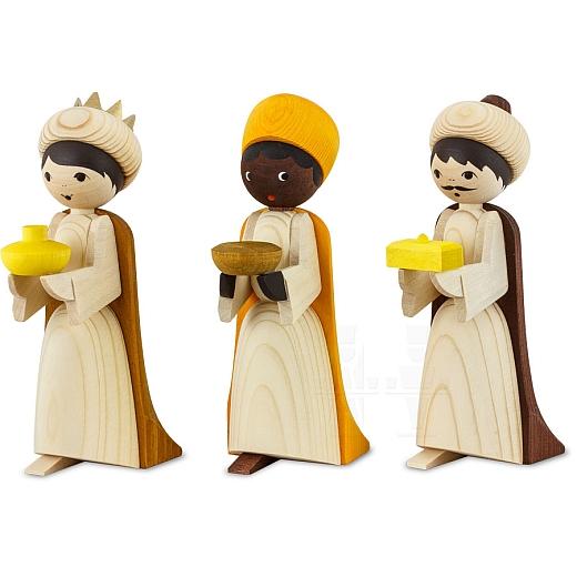 Heilige 3 Könige 13 cm gebeizt