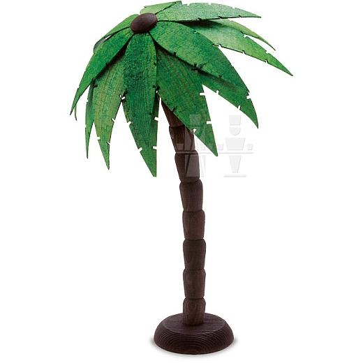 Palme groß gebeizt