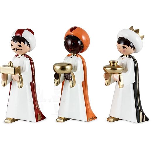 Heilige 3 Könige 7 cm lackiert