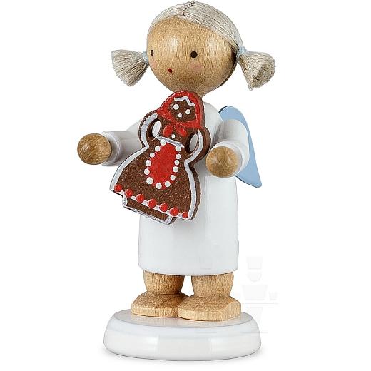 Engel mit Pfefferkuchenfrau