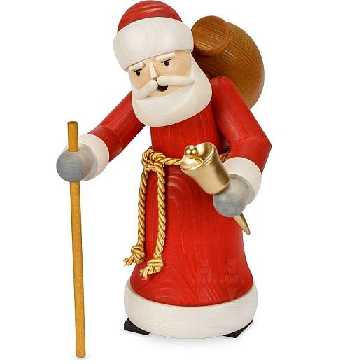 Räuchermann Weihnachtsmann gebeizt