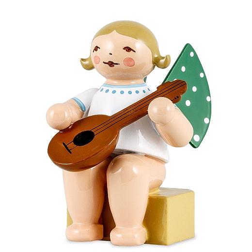 Engel klein mit Mandoline von Wendt & Kühn