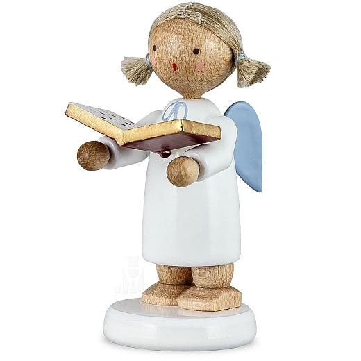 Engel klein, mit Notenbuch
