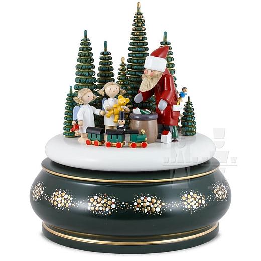 Spieldose Der Weihnachtsmann kommt