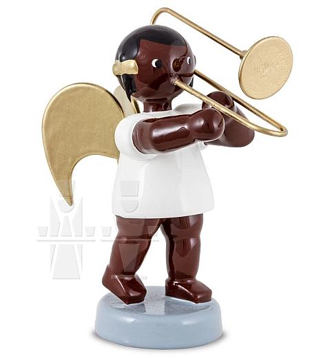 Afrikaner Engel mit Posaune 6 cm