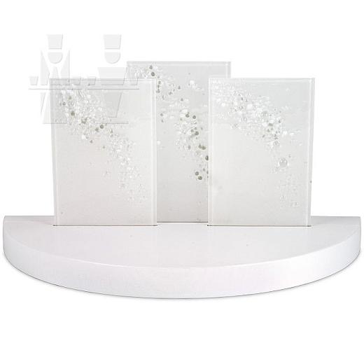 Gläserner Bogen weiß
