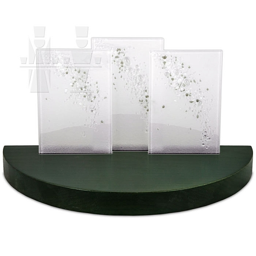 Gläserner Bogen grün