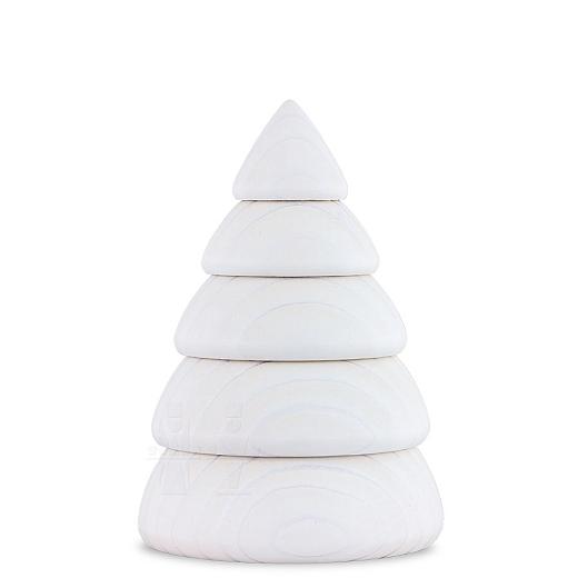 Baum mittel weiß halbiert für Wandrahmen