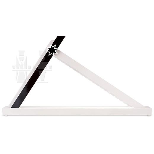 LED Schwibbogen Weiß-Schwarz