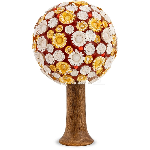 Blütenbaum gelb/weiß/rot 7,5 cm