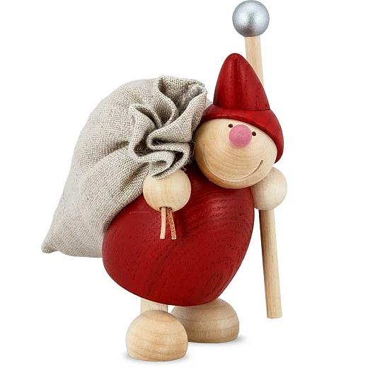 Weihnachts WICHT mit Sack rot