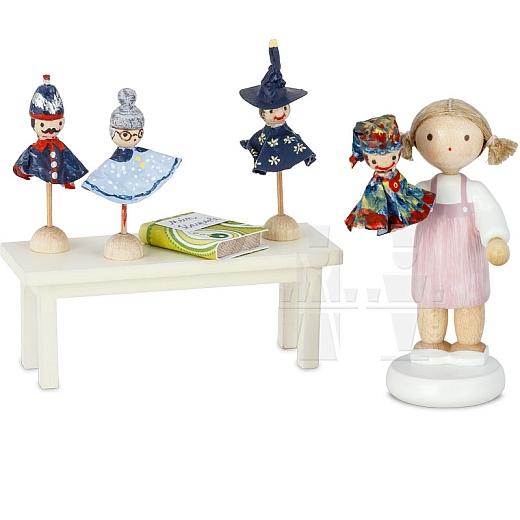 Puppenspielerin