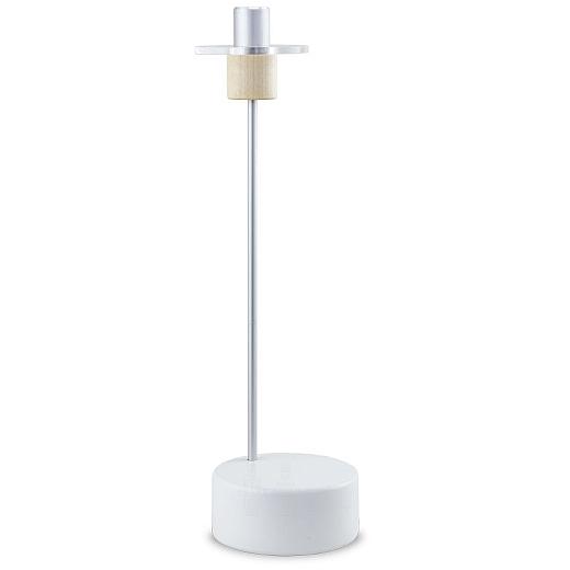 Kerzenhalter klein weiß