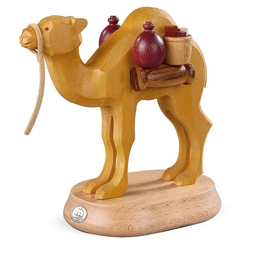 Kamel für Räuchermann Müllerchen® Araber handgeschnitzt natur