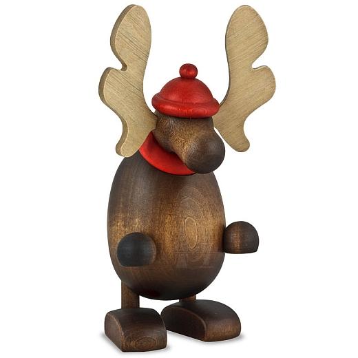 Elch Olaf, stehend
