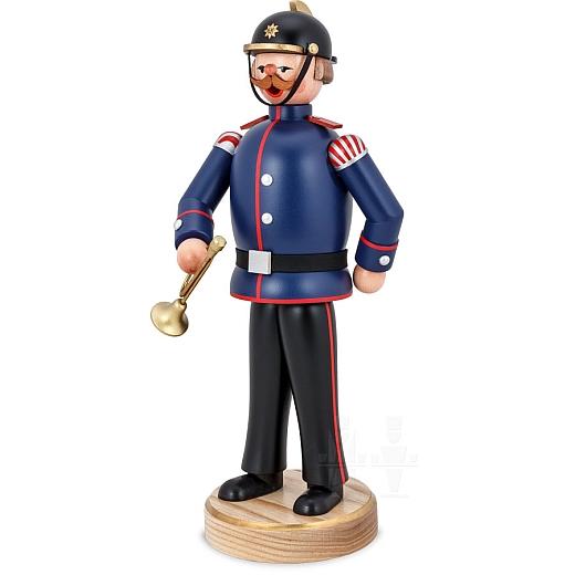 Räuchermann Feuerwehrmann Hornist