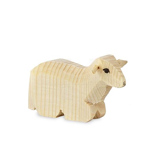 Schaf liegend für 13 cm Figuren