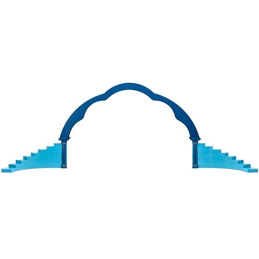 Wolkenbogen elektrisch mit Engelstufen links und rechts farbig