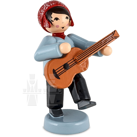 Junge mit Gitarre rot von Ulmik