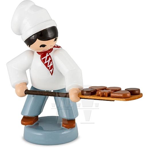 Bäckerjunge mit Schieber rot von Ulmik