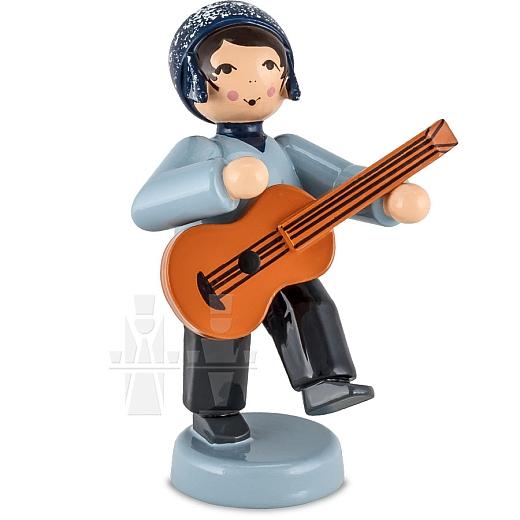 Junge mit Gitarre blau von Ulmik